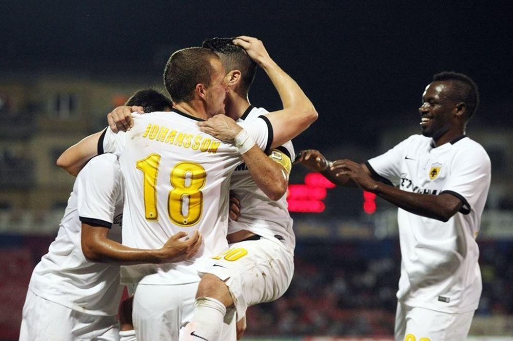 Βέροια - ΑΕΚ 1-2: Τα γκολ του αγώνα (video)