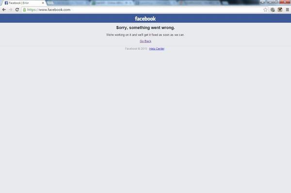 Πανικός στο διαδίκτυο! Έπεσε το Facebook!