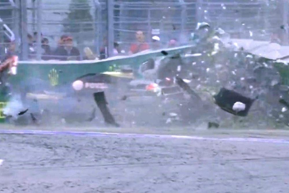 Formula 1: Τρομακτικό ατύχημα για Γκροσάν! (video)