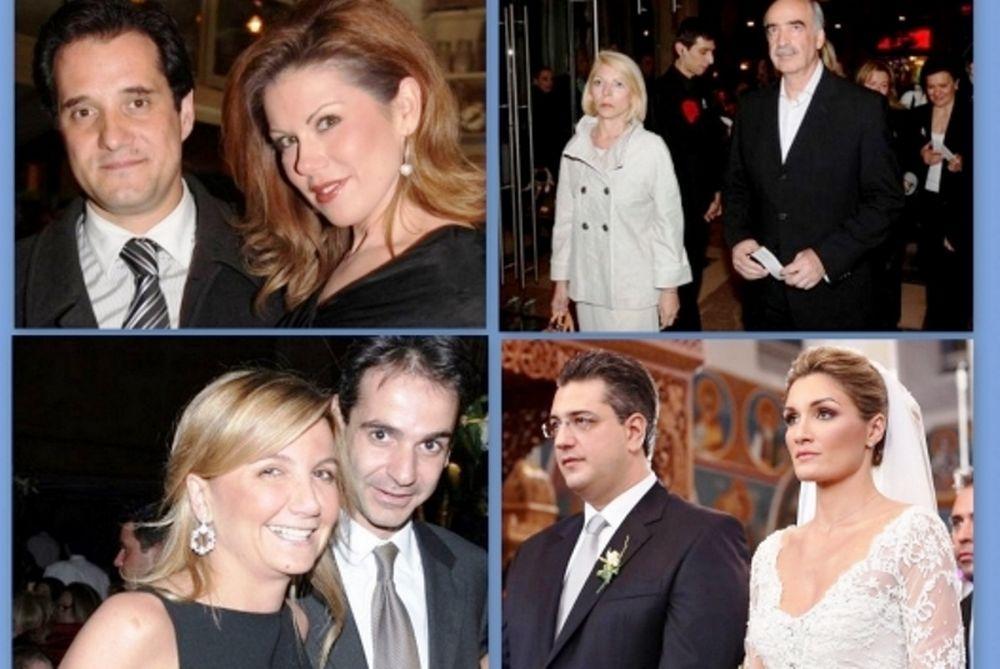 Αυτές είναι οι γοητευτικές σύζυγοι των υποψηφίων για την προεδρία της ΝΔ