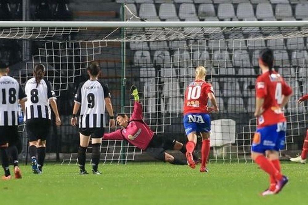 Champions League Γυναικών: Αποκλεισμός με σφαλιάρα για ΠΑΟΚ