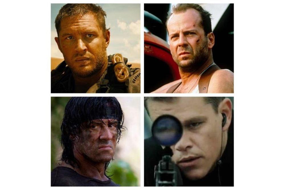 Ποιός είναι ο κορυφαίος ήρωας ταινιών δράσης; (poll)