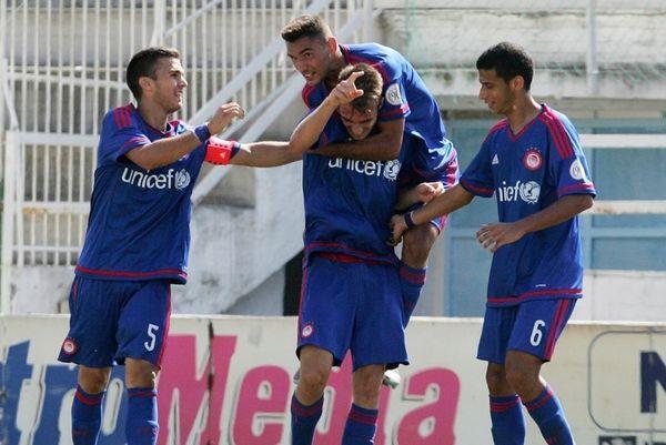 Ολυμπιακός - ΑΕΚ 4-1: «Ερυθρόλευκη» τεσσάρα στους Νέους!