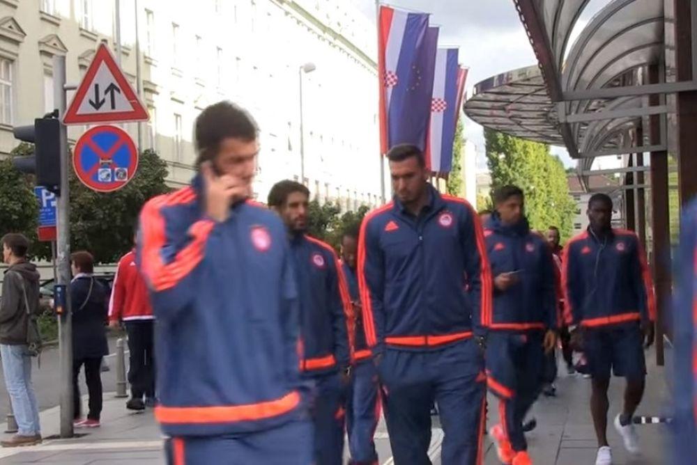 Ολυμπιακός: Βόλτα στο Ζάγκρεμπ (video)