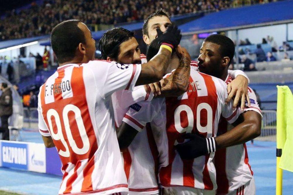 Ντιναμό Ζάγκρεμπ - Ολυμπιακός 0-1: «Ερυθρόλευκο» τρένο... πρόκρισης! (video)