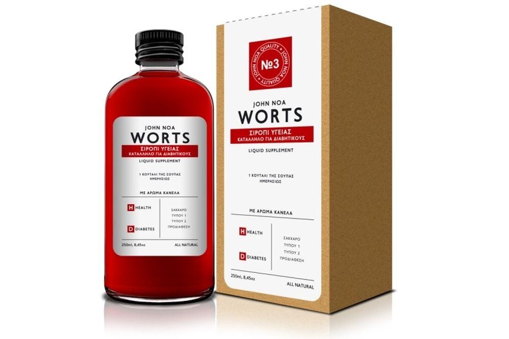 Worts Σιρόπι Υγείας… ο σύμμαχος στο Σακχαρώδη Διαβήτη!