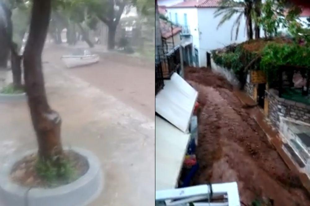 ΣΚΗΝΕΣ ΑΠΟΚΑΛΥΨΗΣ στην Ύδρα! Βουλιάζει το νησί! (videos)