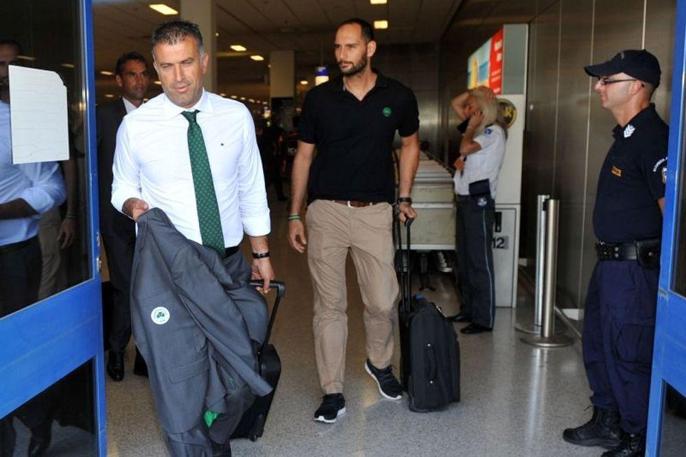Παναθηναϊκός: «Εξάψαλμος» στο αεροδρόμιο!