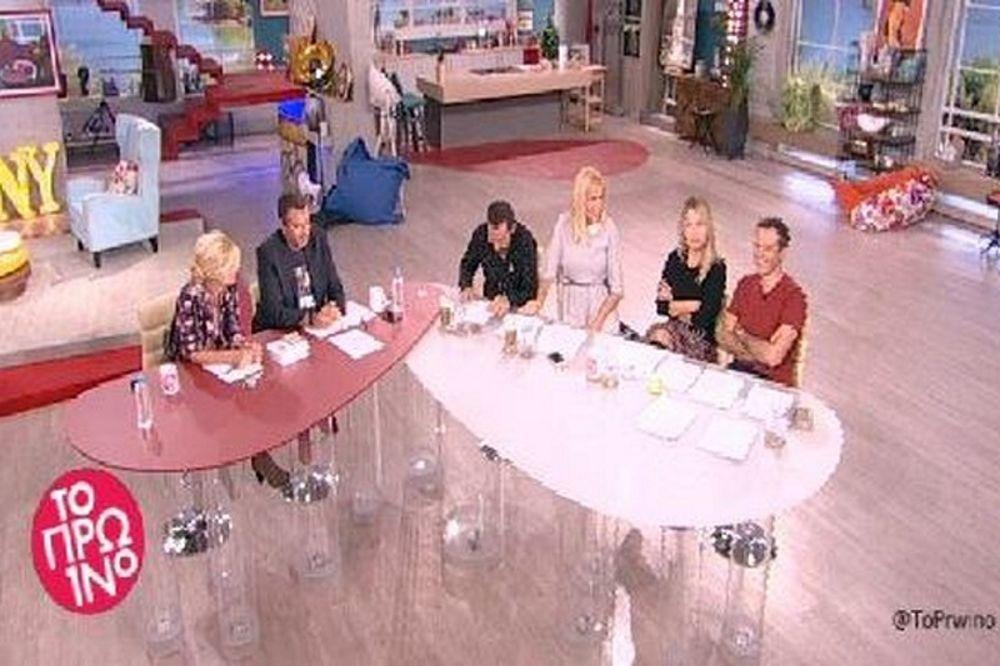 Ένταση στο Πρωινό: Η Ηλιάκη αποκάλεσε τον Λιάγκα «βλαμμένο»!