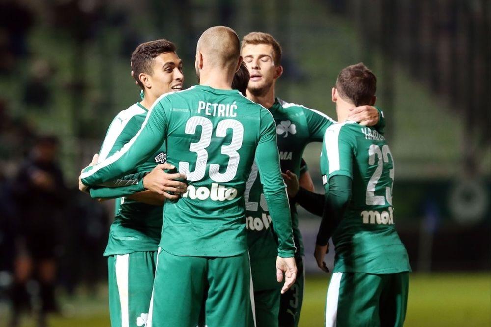 Παναθηναϊκός – Λεβαδειακός 3-0: Τα γκολ του αγώνα (video)