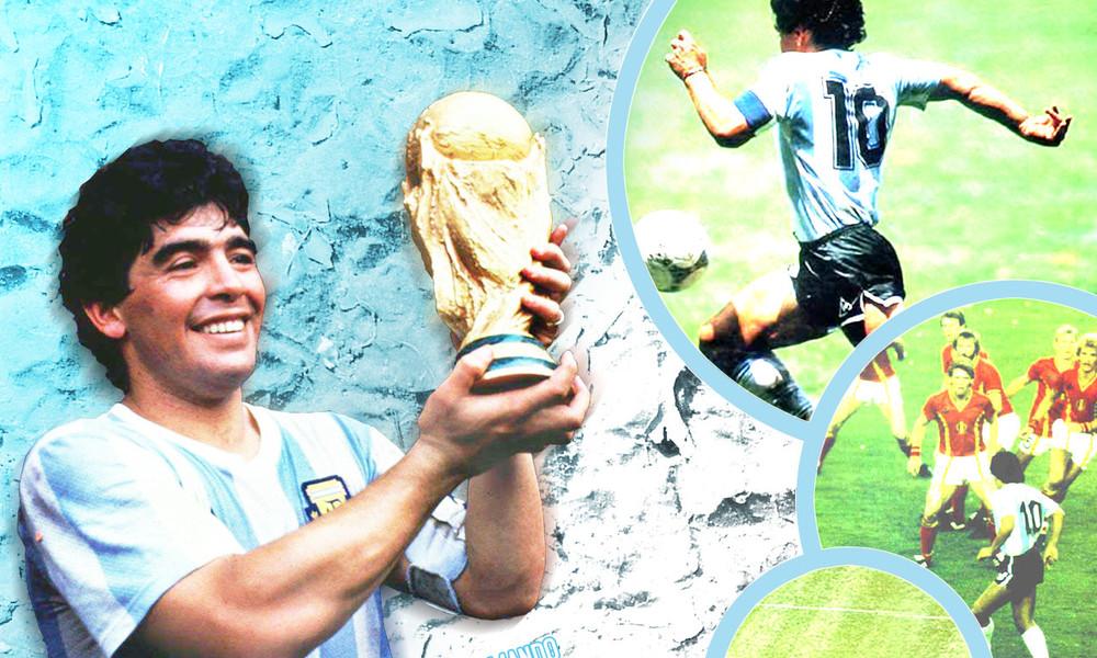 Ντιέγκο Μαραντόνα: Όταν ο «Θεός του ποδοσφαίρου» κατέβηκε στη Γη! (photos+videos)