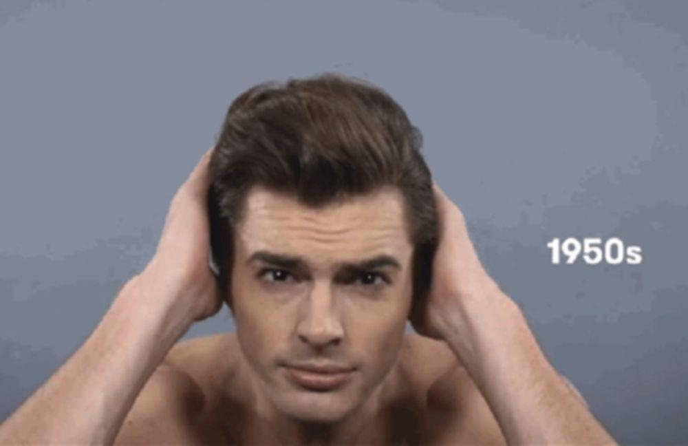 100 χρόνια ανδρικά hairstyles, μέσα σε μόλις 3 λεπτά! (video)