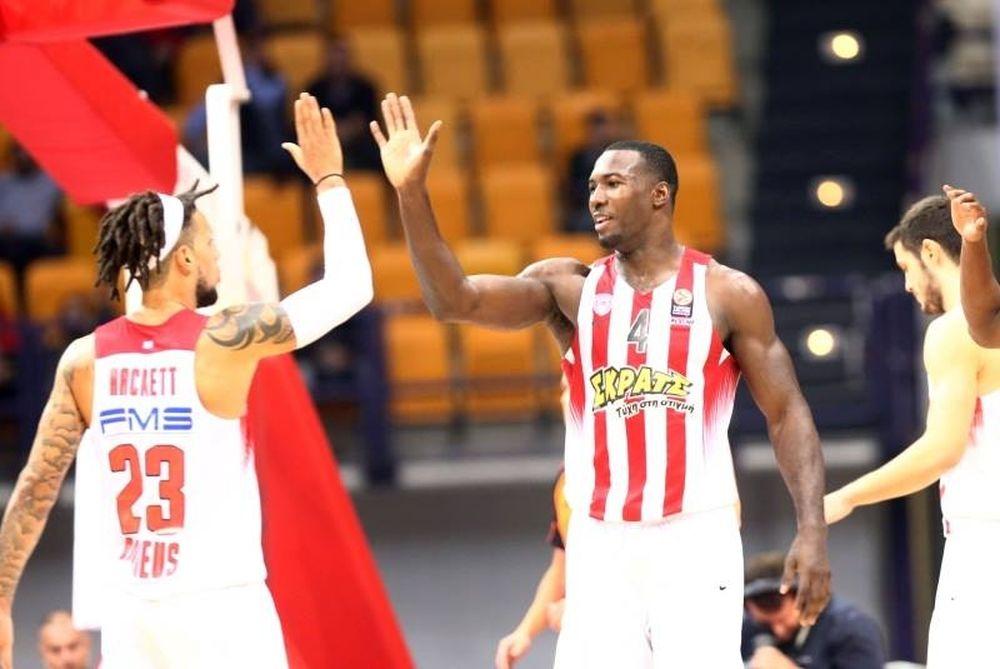 Ολυμπιακός - Λιμόζ 75-49 : Πάτησε γκάζι στην 4η περίοδο