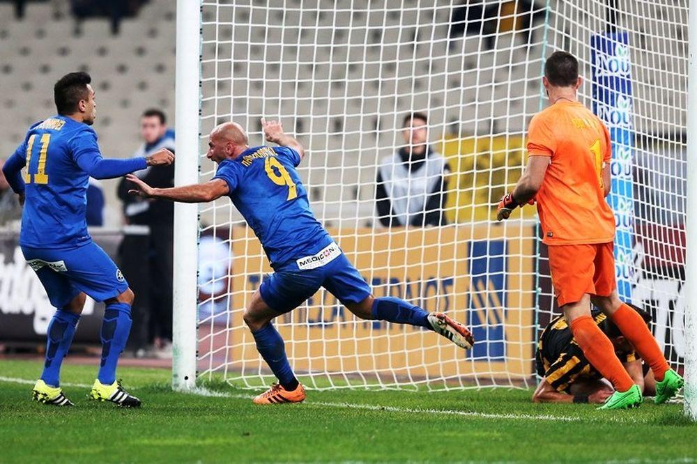 ΑΕΚ - Αστέρας Τρίπολης 0-1: Το γκολ του αγώνα (video)