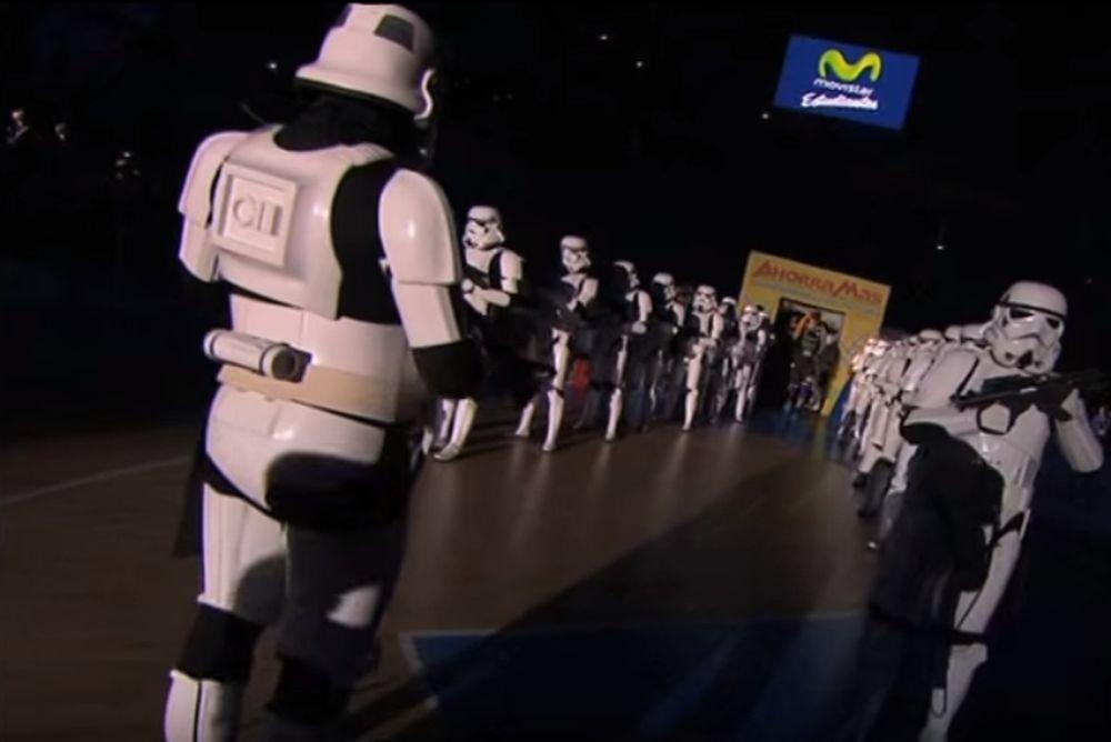 Είσοδος αλά...Star Wars στη Liga Endesa! (video)