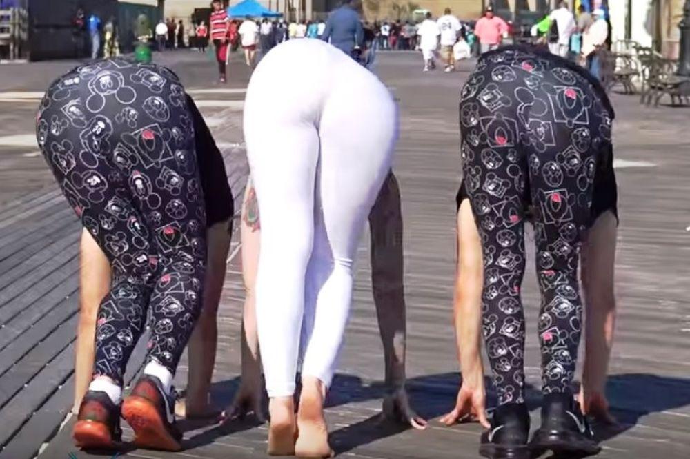 Αηδιαστική φάρσα από γυναικάρα! (video)