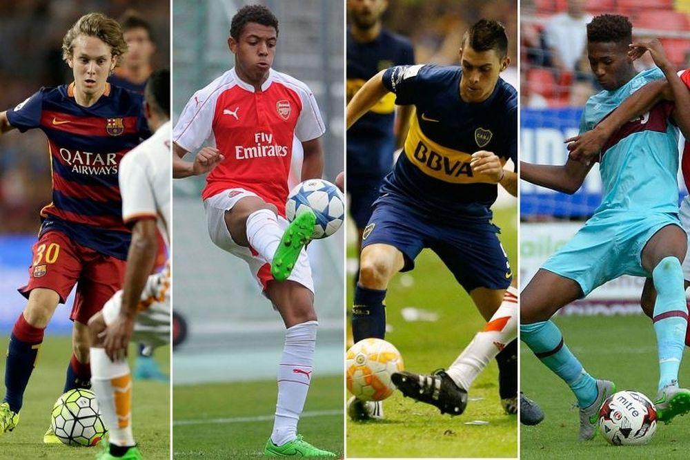 Τα πέντε παιδιά-θαύματα του ποδοσφαίρου (photos)