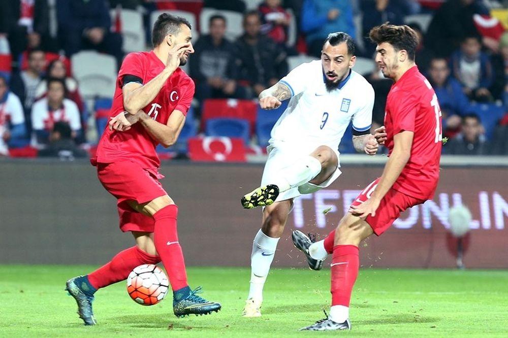 Τουρκία - Ελλάδα 0-0: Τουλάχιστον δεν έχασε