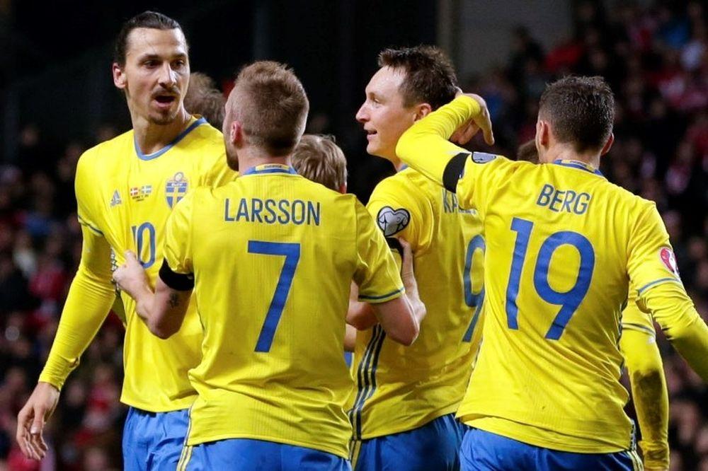 Ο μέγας Ζλάταν έστειλε την Σουηδία στο Euro! (video)
