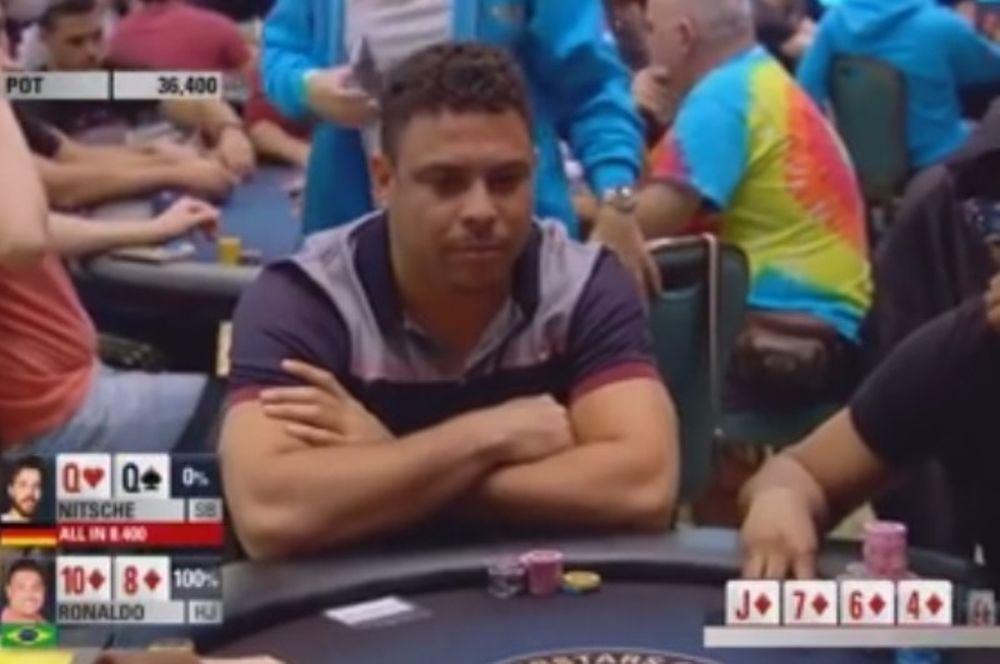 Επικό straight flush από Ρονάλντο στο πόκερ! (video)