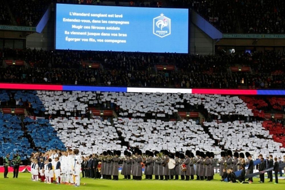 Ο ύμνος της Γαλλίας στην Premier League!
