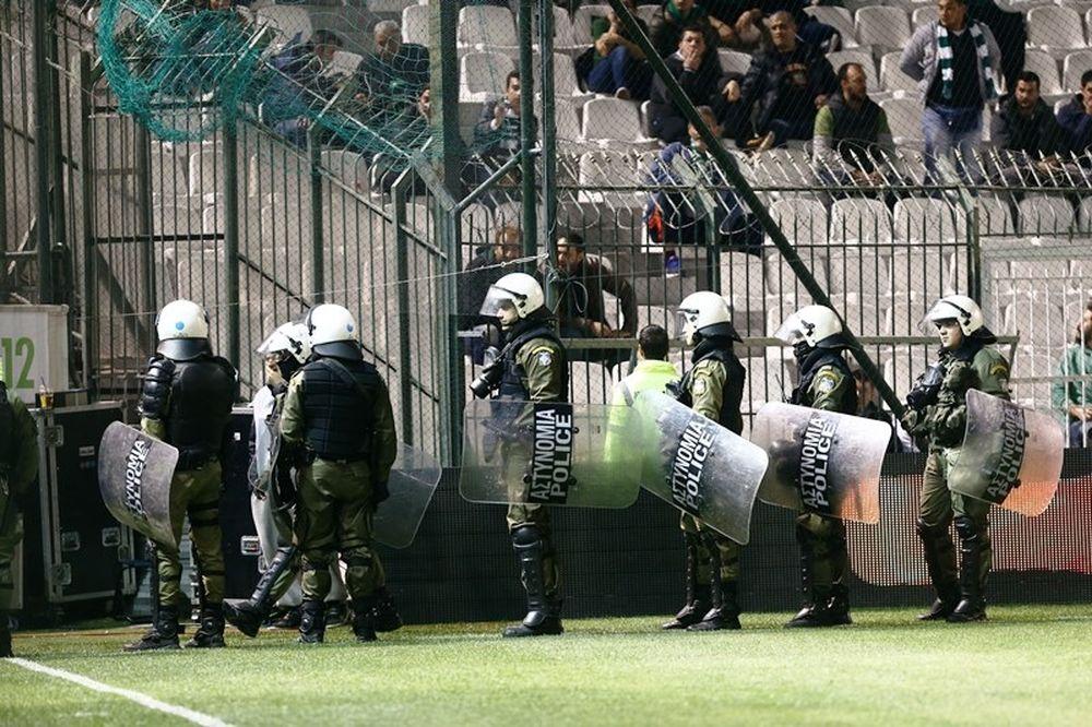 Παναθηναϊκός-Ολυμπιακός: Ξύλο στη Λεωφόρο!