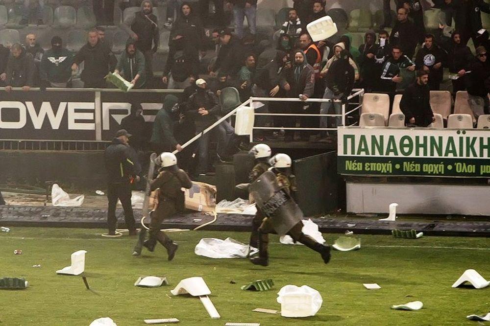 Παναθηναϊκός-Ολυμπιακός: Καμένη γη η Λεωφόρος! (photo)
