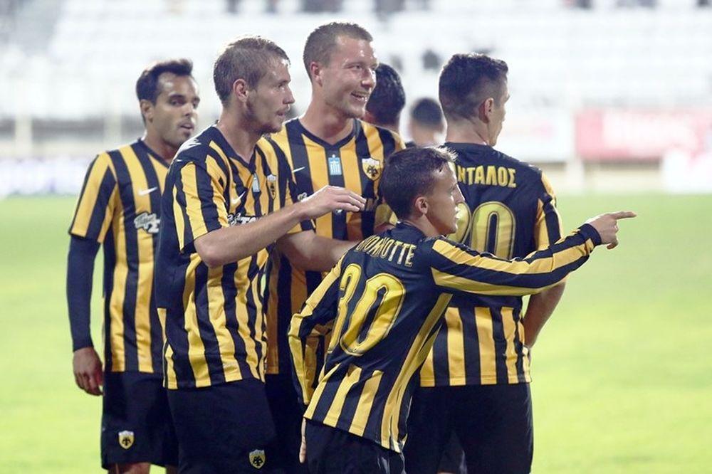 Πανθρακικός – ΑΕΚ 1-2: Τα γκολ του αγώνα (video)