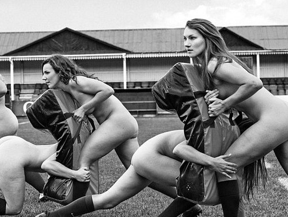 Φοιτήτριες της Οξφόρδης παίζουν... γυμνές ράγκμπι! (photos+video)