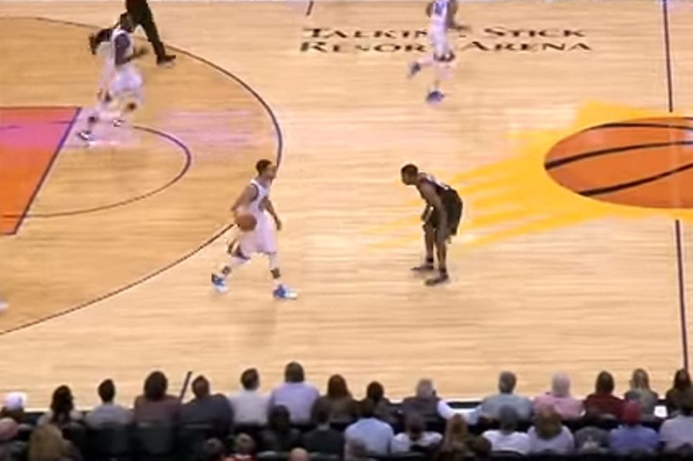 Η διπλή... πλάκα του Curry στον Price (video)