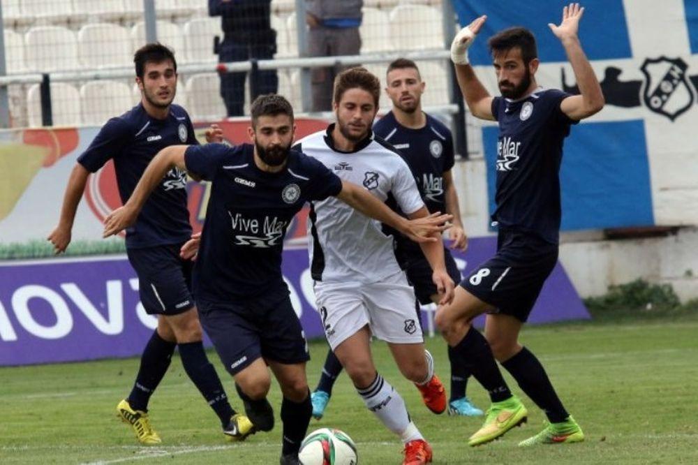 Με το ζόρι ο ΟΦΗ, 2-0 τον Ατρόμητο Πειραιά