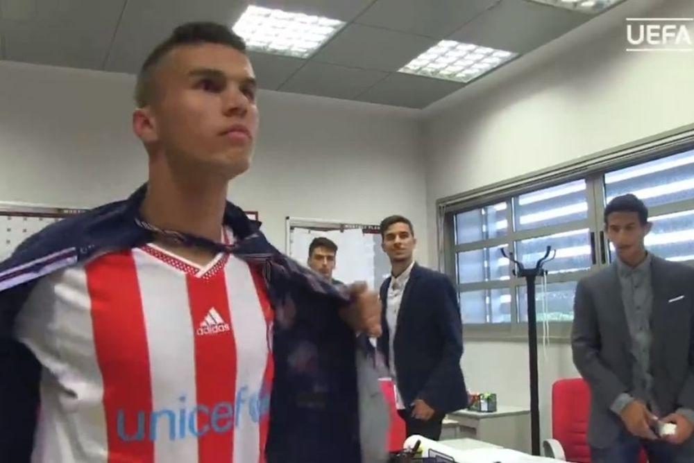 Εκπληκτικό βίντεο της UEFA για τους νέους του Ολυμπιακού! (video)