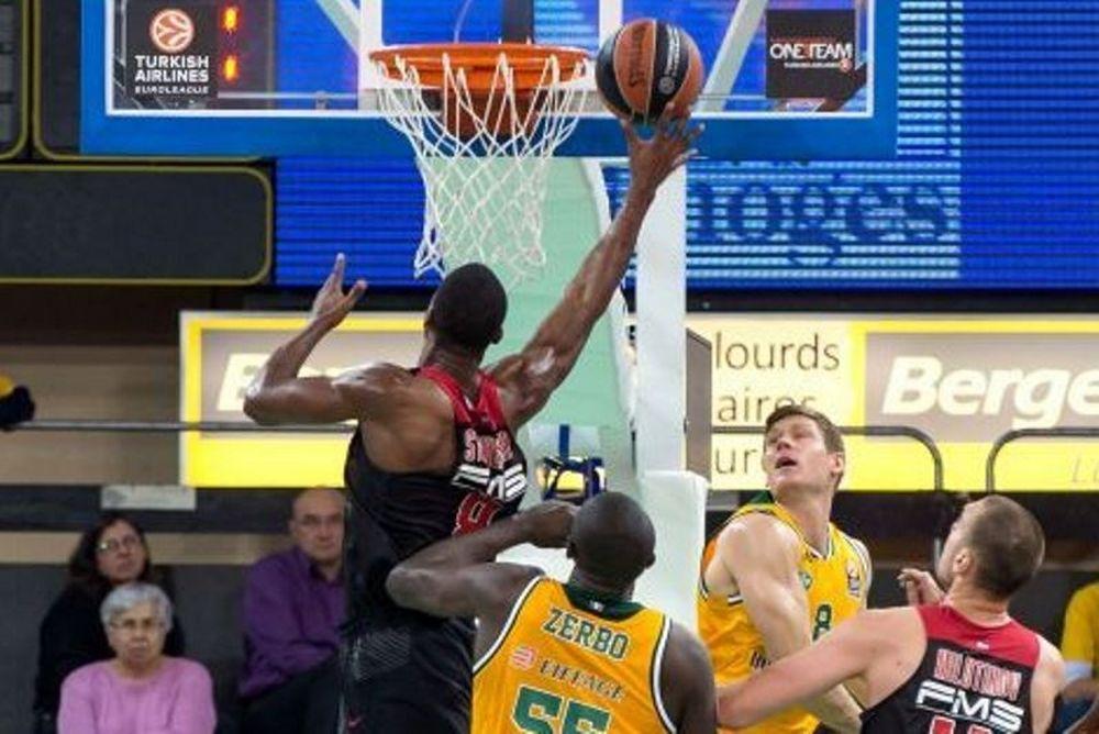 Λιμόζ - Ολυμπιακός 67-76: Περίπατος και στη Γαλλία