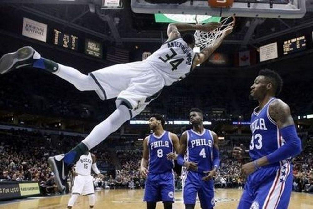 NBA: Με πρωταγωνιστή τον Γιάννη οι Bucks – Ξανά βασικός ο «Παπ» (videos)