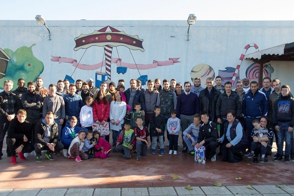 ΠΑΕ Βέροια & Stoiximan επισκέφθηκαν το Σπίτι της Βεργίνας του Συλλόγου «Πρωτοβουλία για το Παιδί»