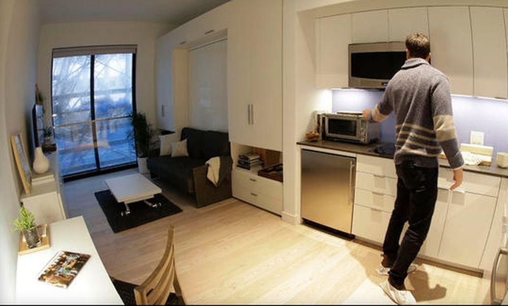 Νέα Υόρκη: Για 55 διαμερίσματα των 24 τετραγωνικών, έγιναν 60.000 αιτήσεις! (pics)