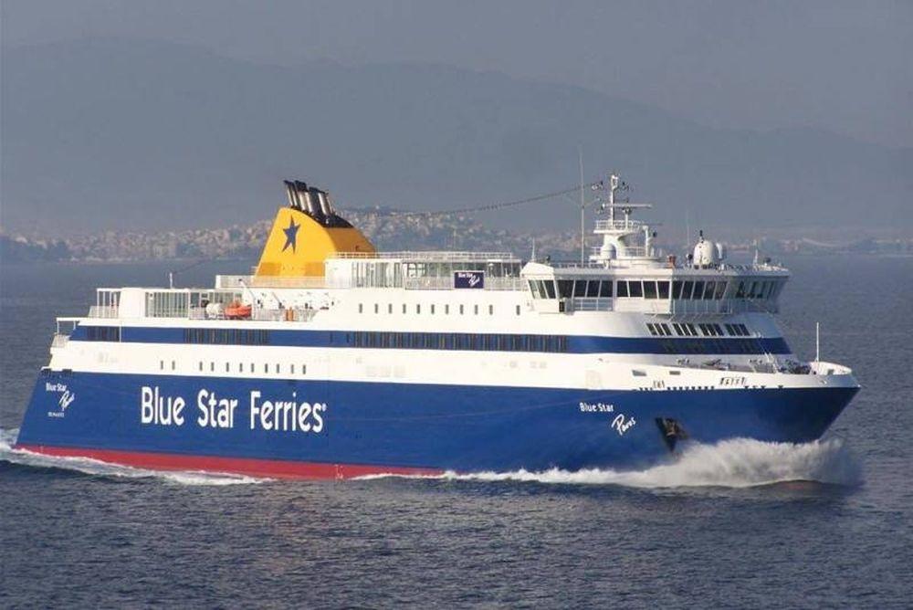 Το Blue Star Paros προσέκρουσε στο λιμάνι του Πειραιά! (photos)