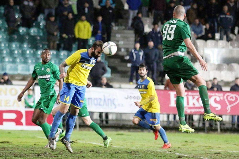 Πανθρακικός – Παναιτωλικός 0-0: Τα highlights του αγώνα (video)