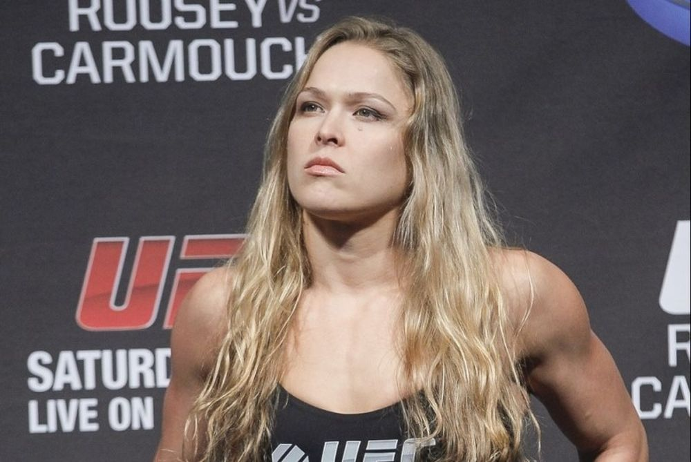 Ronda Rousey: «F**k the all!» (photo+video)