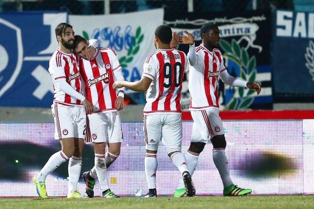ΠΑΣ Γιάννινα – Ολυμπιακό 0-3: Τα γκολ του αγώνα (video)
