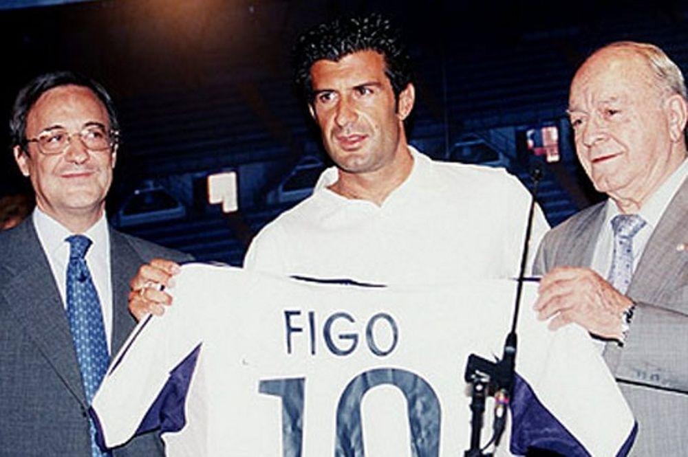 «Σκιές» γύρω από τη μεταγραφή του Φίγκο στη Ρεάλ!