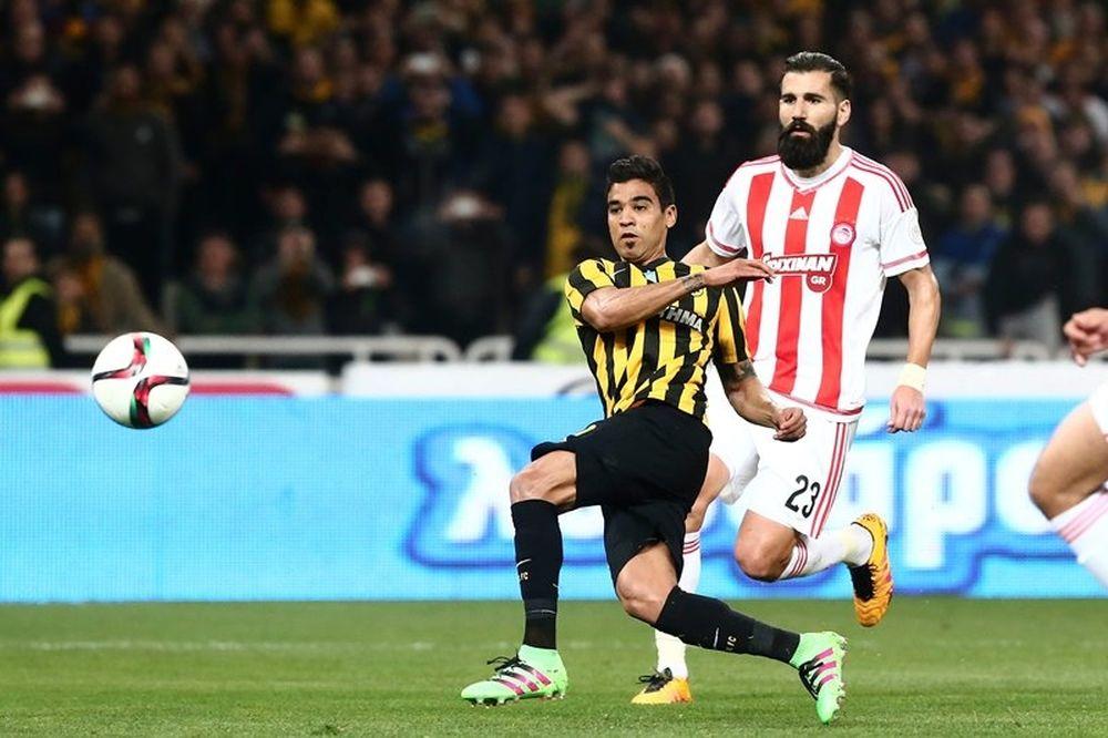 ΑΕΚ - Ολυμπιακός 1-0: Το γκολ του αγώνα (video)