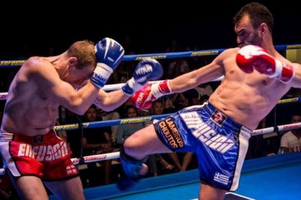 Σε τελικό kick boxing o Χούτος! (photos)