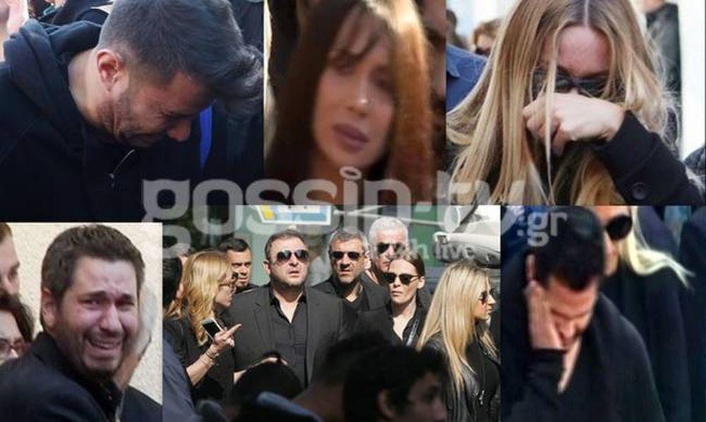 Κηδεία Παντελίδη: «Λύγισαν» οι συνάδελφοι του Παντελή στο τελευταίο αντίο