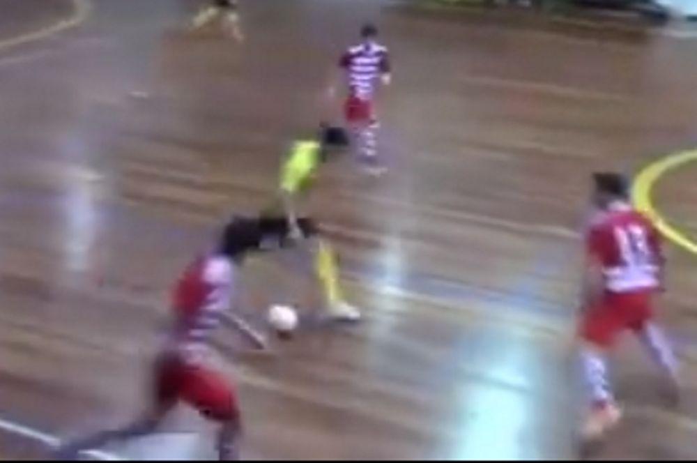Απίστευτη γκολάρα σε futsal! (video)