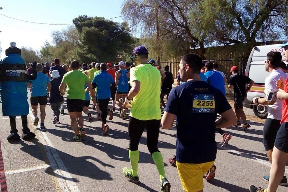 Το POWERADE χορηγός και επίσημο αθλητικό ποτό του 39ου Αγώνα Δρόμου Υγείας Αθήνας 20 χλμ.
