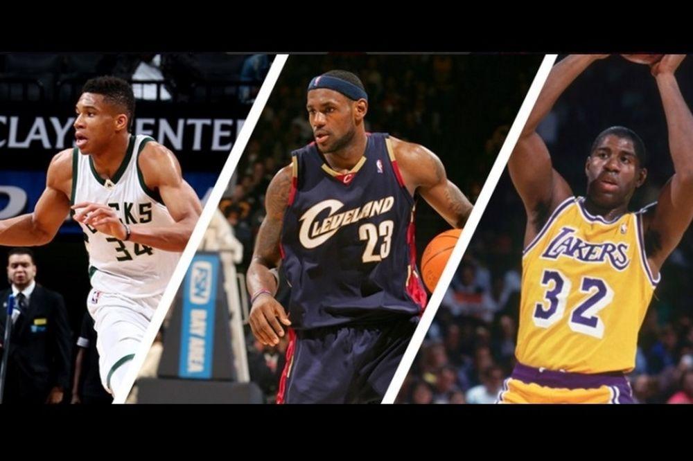 Ιστορικός Αντετοκούνμπο: Πίσω από τους LeBron James και Magic Johnson