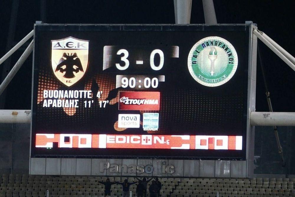 ΑΕΚ – Πανθρακικός 3-0: Τα επίσημα highlights (video)