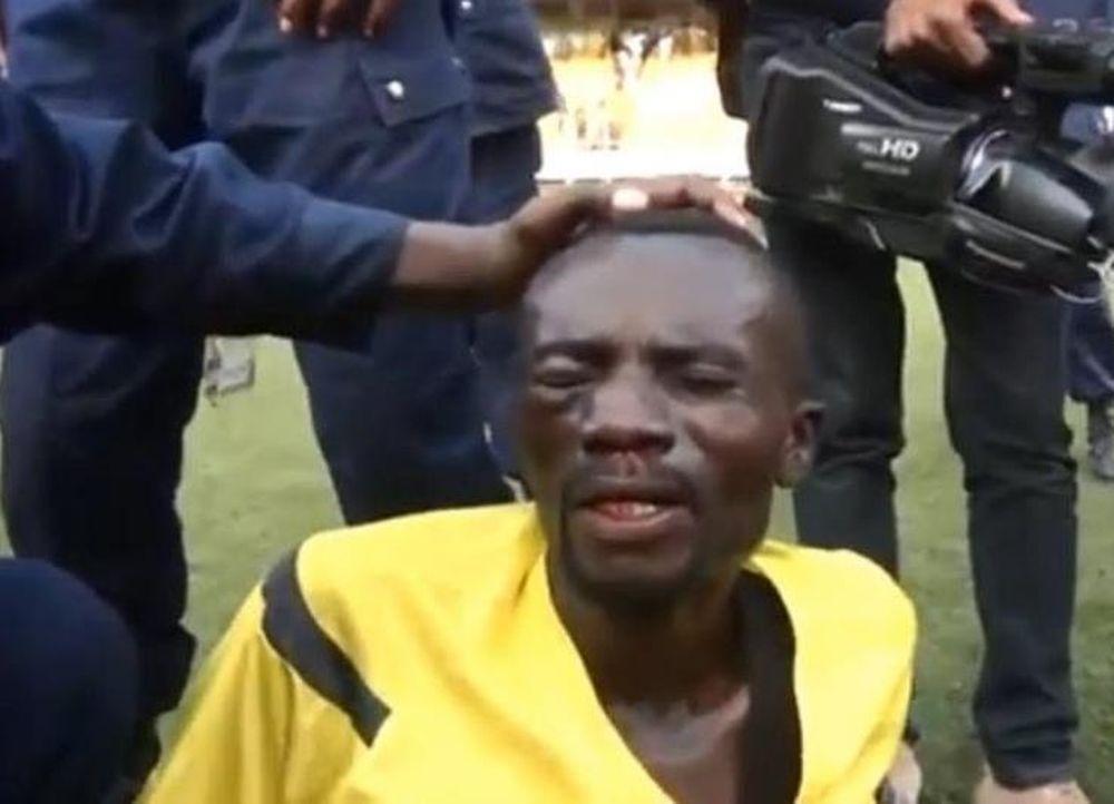 ΣΟΚ: Παραλίγο να δολοφονήσουν διαιτητή εντός γηπέδου (video)