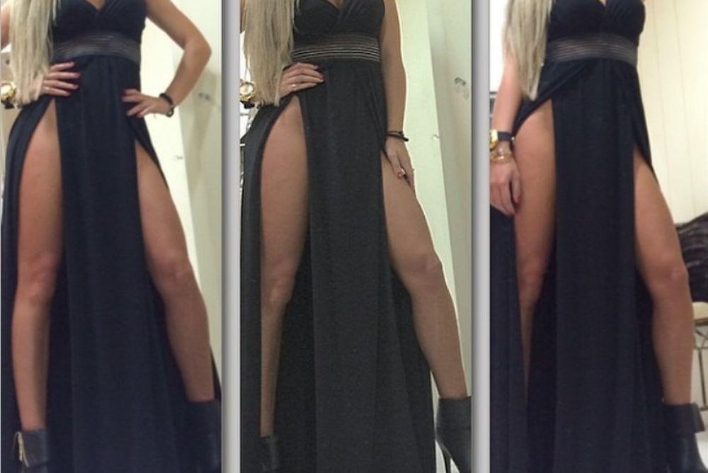 Ποια καυτή Ελληνίδα τόλμησε να φορέσει αυτό το φόρεμα χωρίς εσώρουχο; (photo)